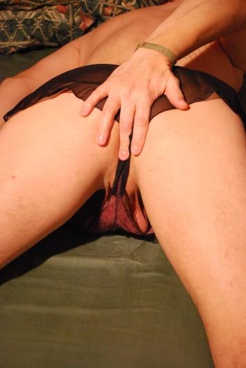 In her panties (05)