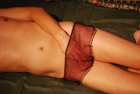 In her panties (06)
