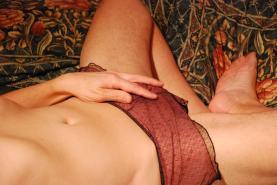 In her panties (07)