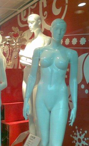 Shop window girls